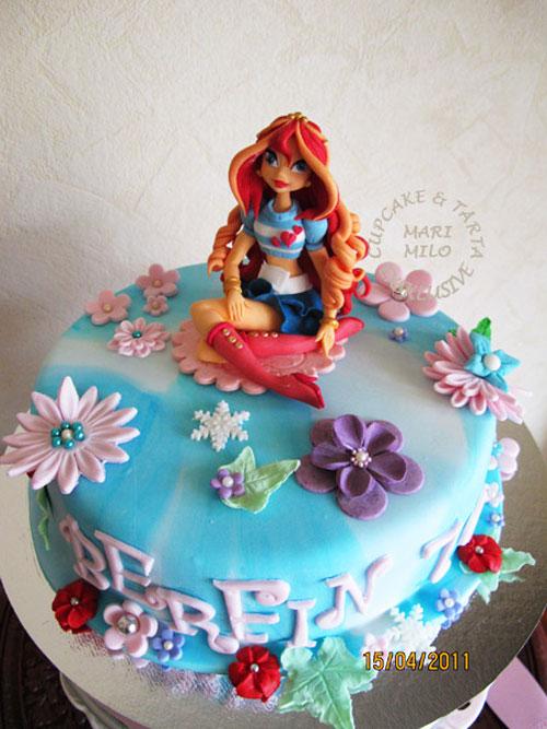 Foto della torta delle Winx n. 94