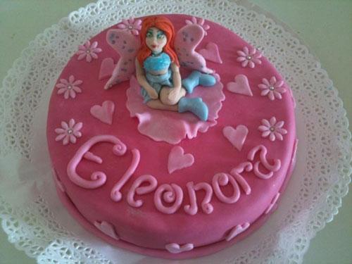 Foto della torta delle Winx n. 96