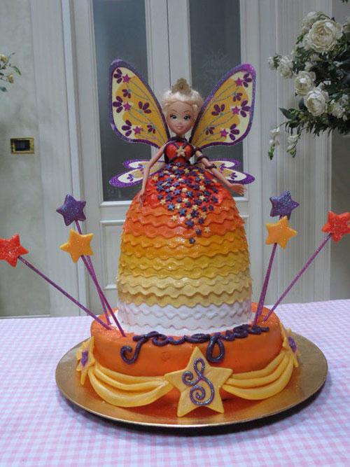 Foto della torta delle Winx n. 97