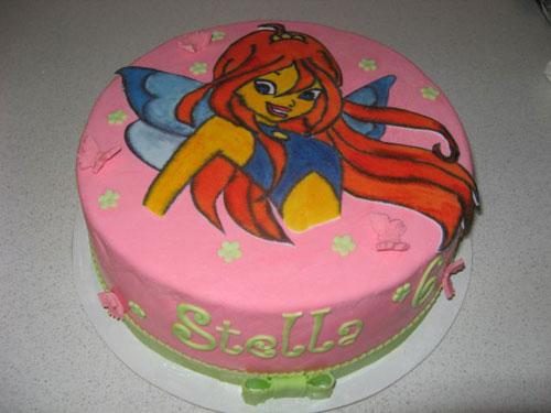 Foto della torta delle Winx n. 99