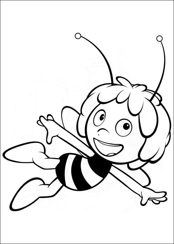 60 disegni dell 39 ape maia da stampare e colorare