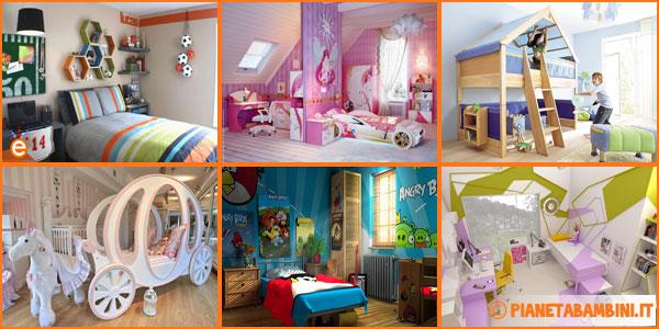 80 foto di camerette per bambini con arredamento - Camere da letto per bambine ...