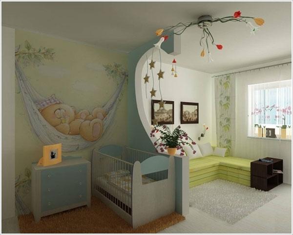 80 foto di camerette per bambini con arredamento - Idee camerette neonato ...