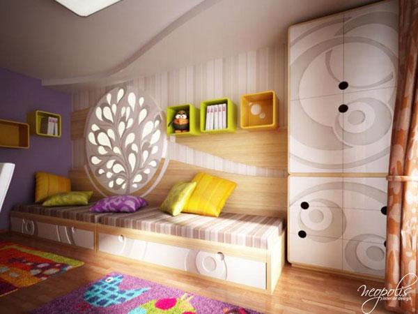 80 foto di camerette per bambini con arredamento - Camerette design bambini ...