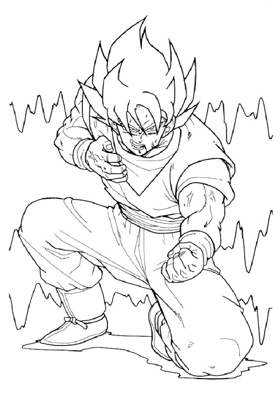 80 Disegni Di Dragon Ball Z Da Stampare E Colorare Pianetabambini It