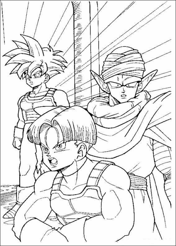 80 Disegni Di Dragon Ball Z Da Stampare E Colorare Pianetabambiniit