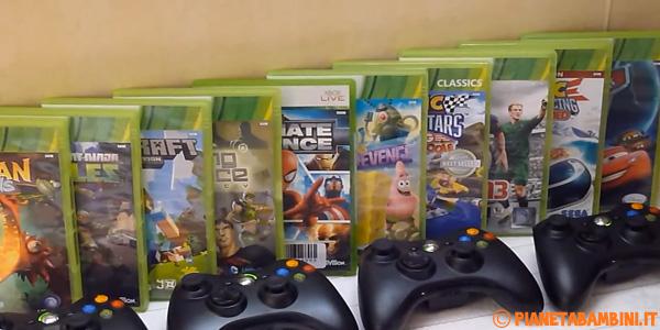 I migliori giochi Xbox 360 per bambini