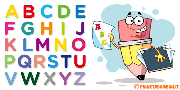 Materiale gratuito per imparare l'alfabeto