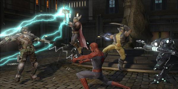 Videogioco Marvel La Grande Alleanza per bambini