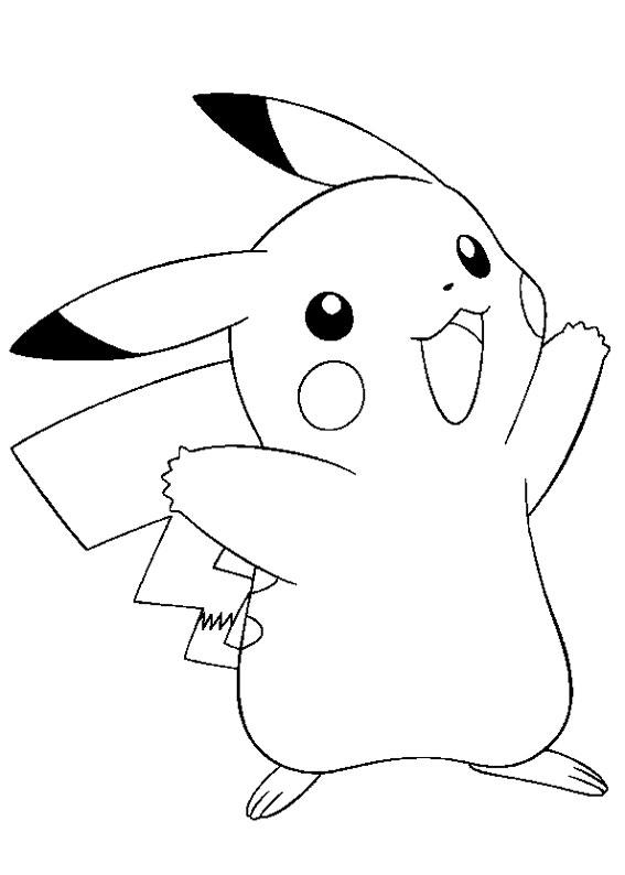 Disegni dei pokémon da stampare e colorare
