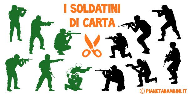 Soldatini di carta da stampare gratis