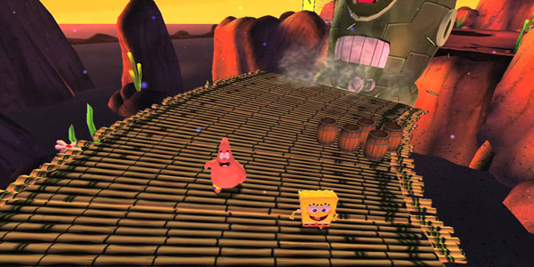 Videogioco SpongeBob Squarepants Vendetta Robotica Plankton per bambini