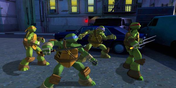 Videogioco Teenage Mutant Ninja Turtles per bambini