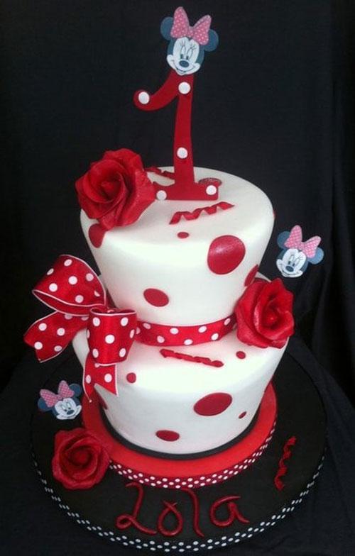 Foto della torta di Minnie n. 01