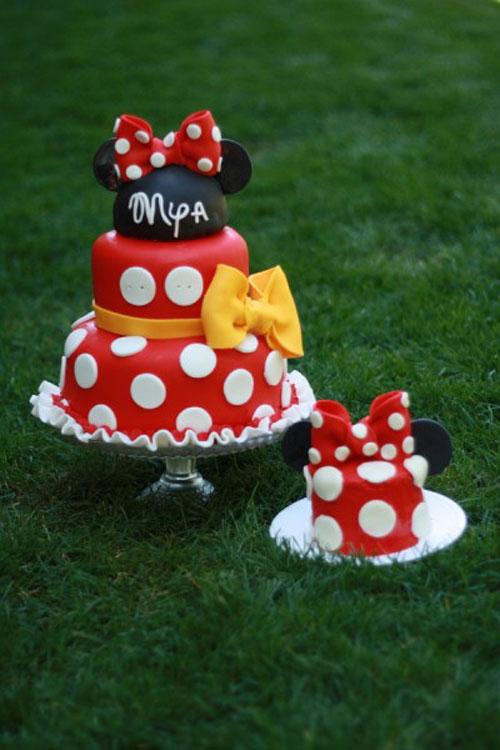 Foto della torta di Minnie n. 02