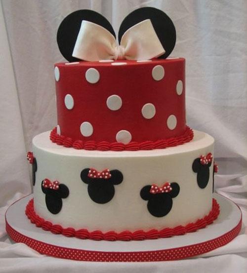 Foto della torta di Minnie n. 03