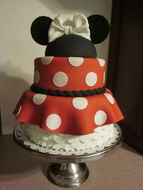 Foto della torta di Minnie n. 05
