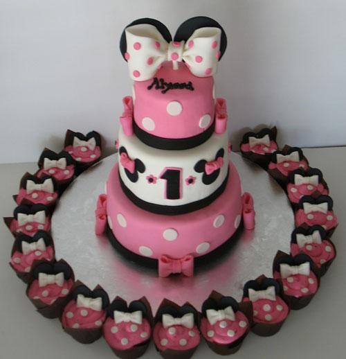 Foto della torta di Minnie n. 06