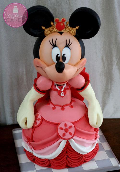 Foto della torta di Minnie n. 08