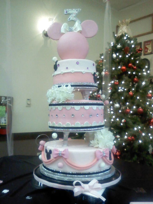Foto della torta di Minnie n. 09