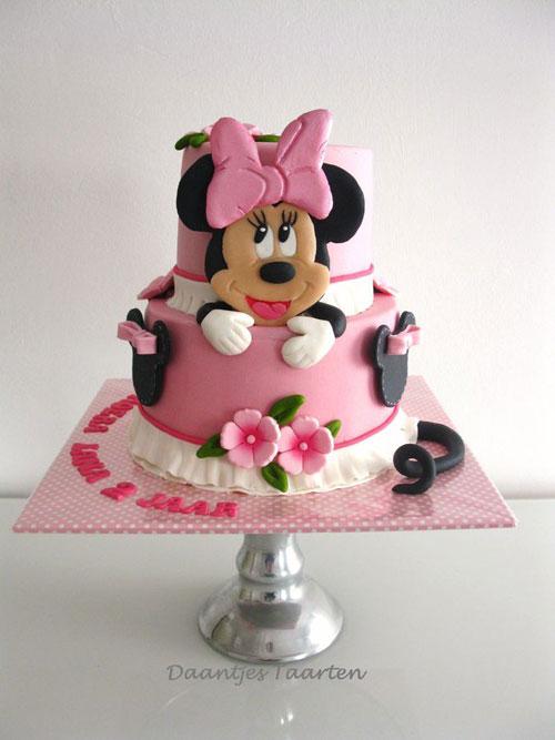 Foto della torta di Minnie n. 10