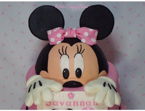 Foto della torta di Minnie n. 11