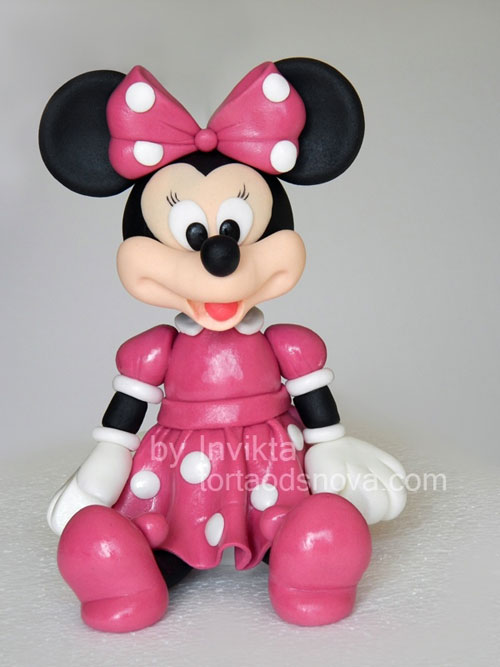 Foto della torta di Minnie n. 12