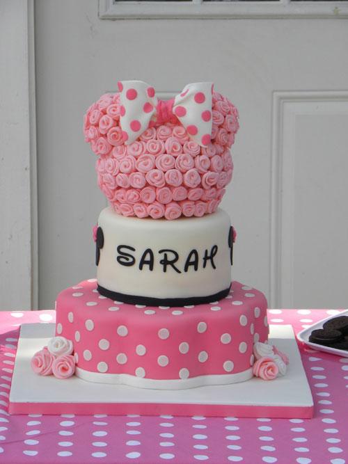 Foto della torta di Minnie n. 13