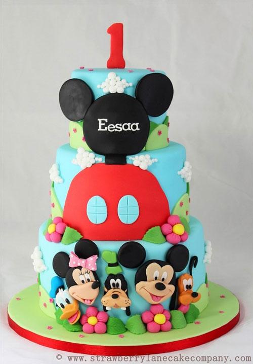 Foto della torta di Minnie n. 14