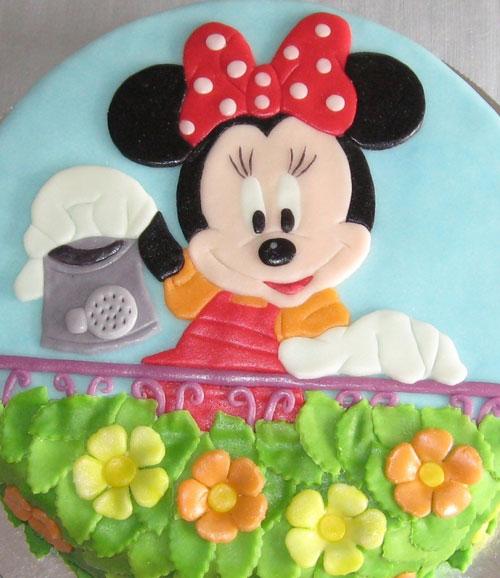 Foto della torta di Minnie n. 15