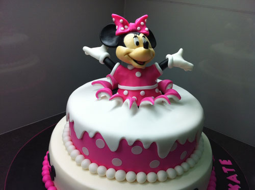 70 torte di minnie per compleanni di bambine. Black Bedroom Furniture Sets. Home Design Ideas