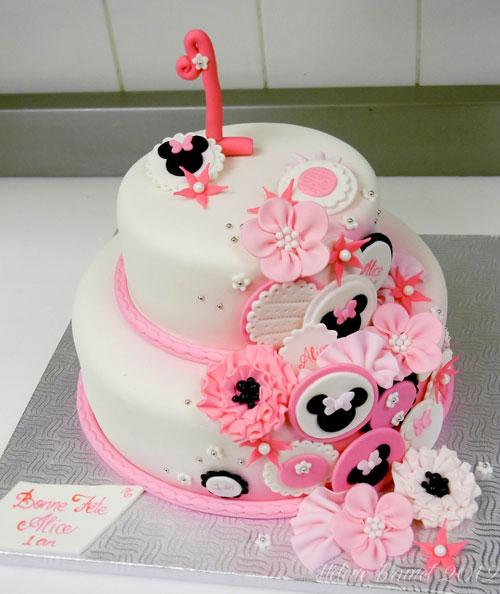 Foto della torta di Minnie n. 17