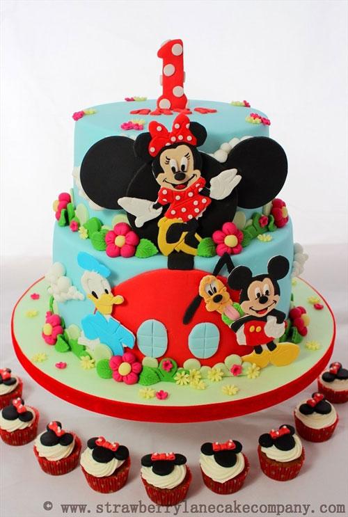 Foto della torta di Minnie n. 18