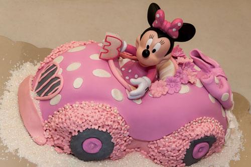 Foto della torta di Minnie n. 19