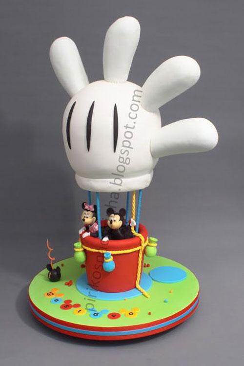 Foto della torta di Minnie n. 20