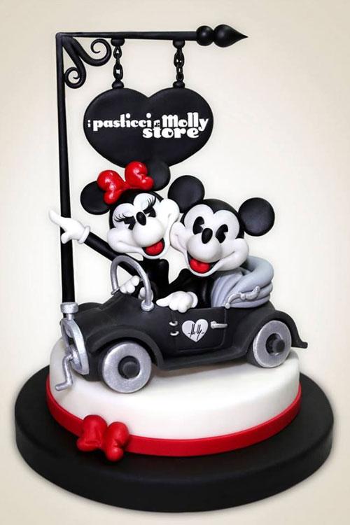 Foto della torta di Minnie n. 21
