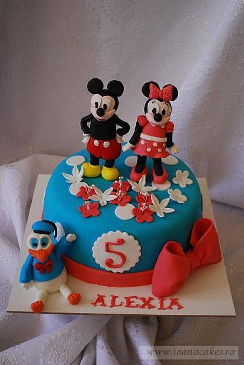 Foto della torta di Minnie n. 22