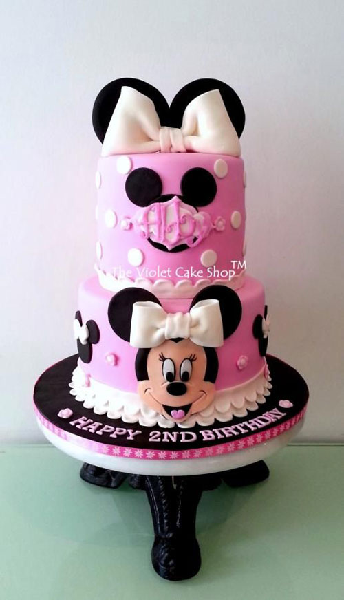 Foto della torta di Minnie n. 23