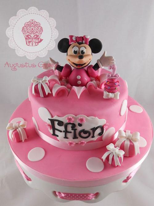 Foto della torta di Minnie n. 24