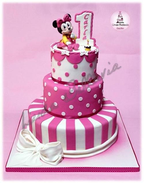 Foto della torta di Minnie n. 26