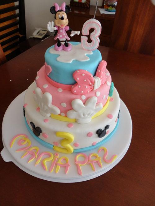 Foto della torta di Minnie n. 27
