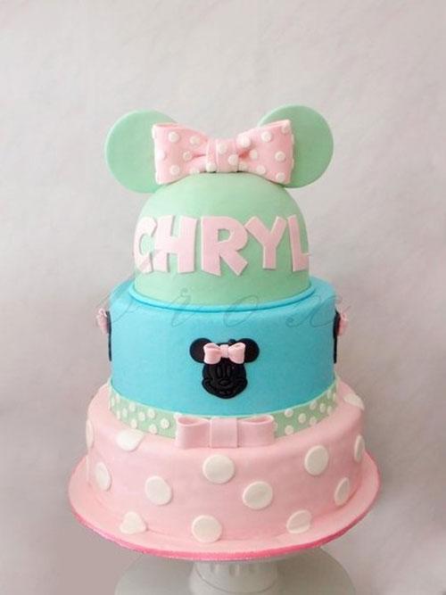 Foto della torta di Minnie n. 28