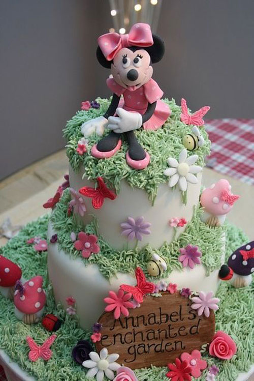 Foto della torta di Minnie n. 29