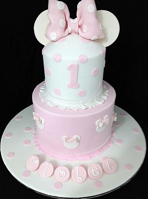 Foto della torta di Minnie n. 31