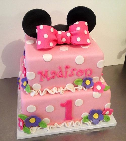 Foto della torta di Minnie n. 34