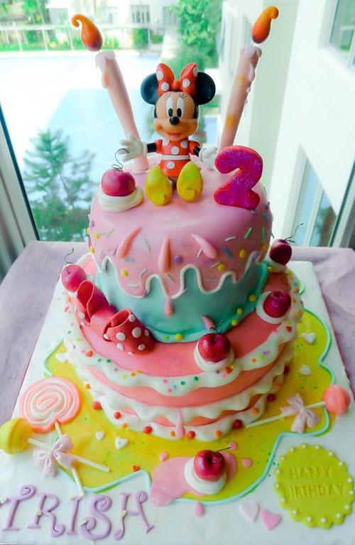 Foto della torta di Minnie n. 35