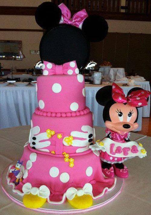 Foto della torta di Minnie n. 36