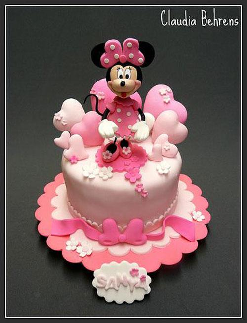 Foto della torta di Minnie n. 37
