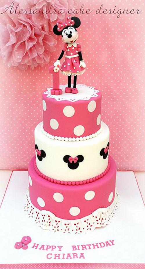 Foto della torta di Minnie n. 39