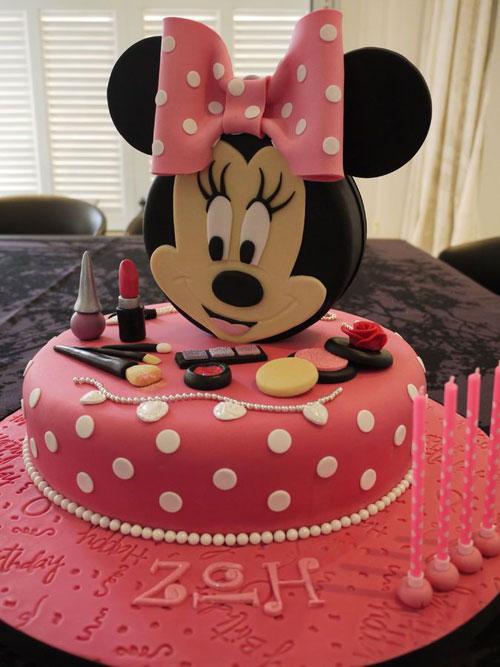 Foto della torta di Minnie n. 40